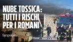 Incendio Tmb Salario, fumo invade anche Roma: quali sono i rischi per la salute dei cittadini?