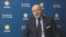 """Inter, inizia l'era di Giuseppe Marotta: """"Faccio parte della grande Inter"""""""