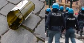 Lazio-Eintracht, massima allerta a Roma: tensioni tra tifosi tedeschi e polizia