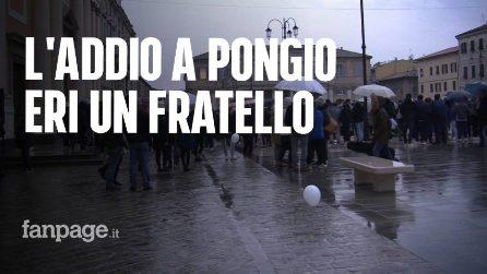 """Strage Lanterna Azzurra, i funerali del 16enne Daniele Pongetti: """"Ciao Pongio, eri un fratello"""""""