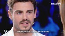 """Verissimo, Francesco Monte: """"Mia madre è il mio angelo custode"""""""