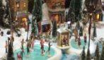 Maxi villaggio di Natale nel centro commerciale Porta di Roma