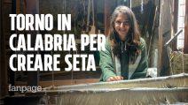 """La storia di Miriam: """"Sono tornata al Sud per coltivare i bachi da seta"""""""