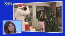 Uomini e Donne:esterna di Natale per Claudia Dionigi e Lorenzo Riccardi