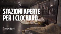 """Freddo a Napoli, stazioni della metro aperte per i senzatetto: """"Così possiamo dormire al caldo"""""""