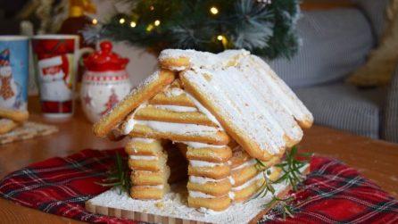 Casetta di savoiardi: l'idea meravigliosa per Natale!