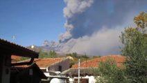 Eruzione Etna, il momento delle scosse di terremoto