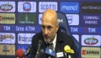 """Inter, Spalletti: """"Partita complicata per quello che è successo"""""""