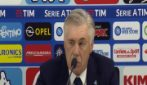 """Napoli, Ancelotti: """"Bilancio stagione fin qui? Positivo ma non eccezionale"""""""