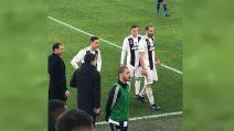 Juve-Sampdoria, l'arbitro è al Var: occhio ai giocatori della Juve in campo e sulla panchina