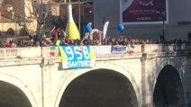 Roma: il 31esimo tuffo nel Tevere di Mister Ok