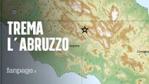 """Terremoto in Abruzzo avvertito anche a Roma: """"Area ad alta pericolosità, registrate altre scosse"""""""