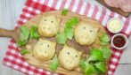 Stuffed piggies: a creative dish to make for the kids!