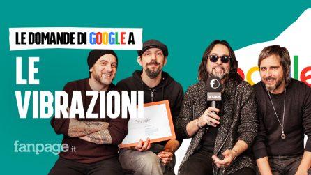 Le Vibrazioni, Giulia, Vieni da me, Pensami così: la band risponde alle domande di Google