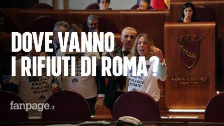 Roma, consiglio straordinario sui rifiuti in Campidoglio: protestano opposizioni e comitati