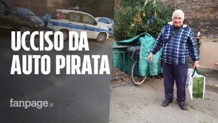 """Nereo, il clochard di Corso Italia ucciso da un'auto pirata: """"Facciamo adottare il suo cane Lilla"""""""