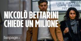 Niccolò Bettarini, chiesto un milione di risarcimento per l'accoltellamento fuori dall'Old Fashion