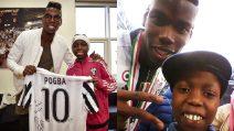 La dedica di Pogba a Bryan Dodien, il piccolo calciatore della Juventus che ha sconfitto il cancro