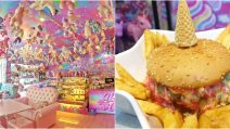 Unicorn cafe: the most magical place on earth!