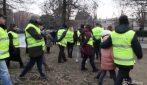 Milano, la protesta dei vigili: quando parla il sindaco Sala gli agenti si allontanano
