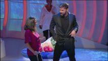 Ricky Martin balla nello studio di C'è posta per te
