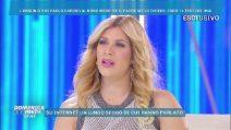 Domenica Live, l'annuncio di Paola Caruso