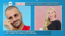 """Fabrizio Corona a Mattino Cinque: """"Provai a baciare Belen, ma mi ha detto no"""""""