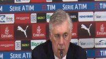"""Ancelotti: """"La mia espulsione? M'è scappata un'imprecazione"""""""