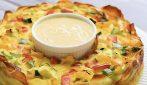 Corona quiche: colorata, piena di sapore e bella da vedere!