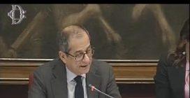 """Banca Carige, il Ministro Tria sbugiarda Di Maio: """"Il decreto è lo stesso di quello del governo Gentiloni"""""""
