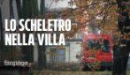 """Scheletro ritrovato in una villa a Senago: """"Stavano facendo dei lavori e hanno trovato una persona"""""""