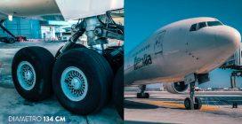 Come e ogni quanto tempo sostituiscono la ruota di un aereo