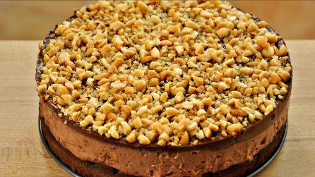 Torta al cioccolato e granella di nocciole: un dolce cremoso e semplice da preparare