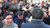 Afragola, bagno di folla per Matteo Salvini