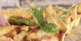 Cestini di lasagna: sfiziosi per un aperitivo in compagnia!