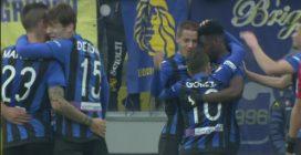 Frosinone-Atalanta 0-5: gli highlights incoronano Zapata super bomber