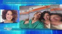 Barbara ed Eleonora D'Urso sul set de La dottoressa Gio'