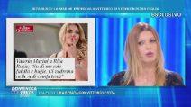 """Rita Rusic contro Valeria Marini: """"Ci sono i fatti e poi ci sono le chiacchiere"""""""