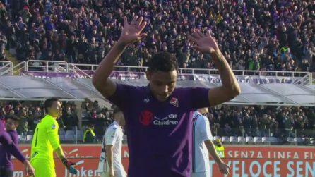 Fiorentina-Samp 3-3: gli highlights con Muriel e Quagliarella protagonisti