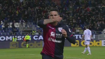 Cagliari-Empoli 2-2, gli highlights della sfida salvezza