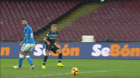 Gli highlights di Napoli-Lazio 2-1, gli azzurri sfiorano la goleada