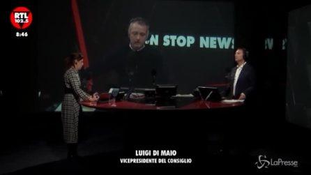 """Migranti, Luigi Di Maio: """"Quelli che vogliono sbarcare li porteremo a Marsiglia"""""""