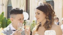 Denise e Deborah si sono sposate, dopo C'è Posta per Te il lieto fine: le immagini del matrimonio