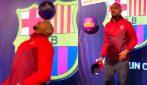 Boateng al Barcellona, i primi palleggi del ghanese non sono entusiasmanti