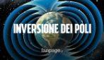 I poli magnetici della Terra si stanno invertendo