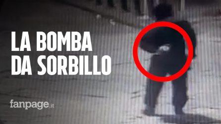 Bomba Sorbillo, un nuovo video mostra il momento dell'esplosione che distrugge la pizzeria