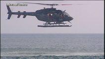 L'Isola 2019, il lancio dall'elicottero di Capparoni, Youma e Vismara