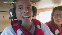 L'Isola 2019: iI lancio dall'elicottero delle Mihajlovic, Ghezzal, Aaron Nielsen e Marina La Rosa
