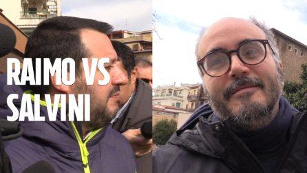 """Diciotti, battibecco tra Raimo e Salvini. Lo scrittore al ministro: """"Hai giurato sulla Costituzione"""""""