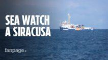Sea Watch con 47 migranti a bordo nel porto di Siracusa, Sindaco e cittadini pronti ad accoglierli